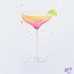 A tasty cocktail