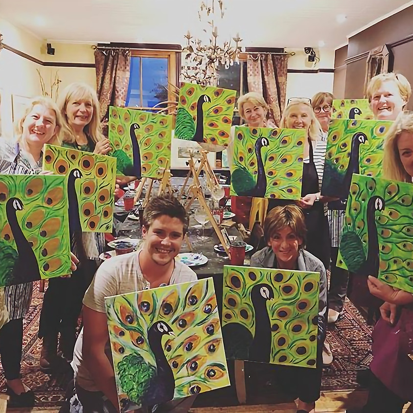 The Paint Club Fundraiser at Cerney House Gardens (1)