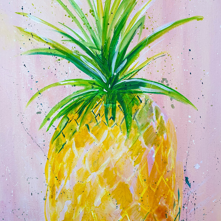 Paint a pineapple  - Online event