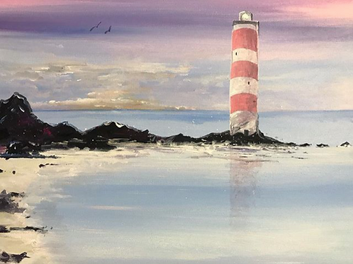 Paints for The Lighthouse Painting