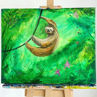Smiley Sloth