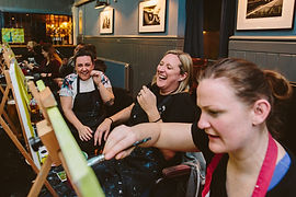 The perfect activity for a hen party.