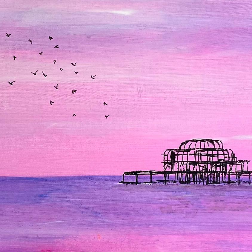 Paint Brighton's West Pier - Online event