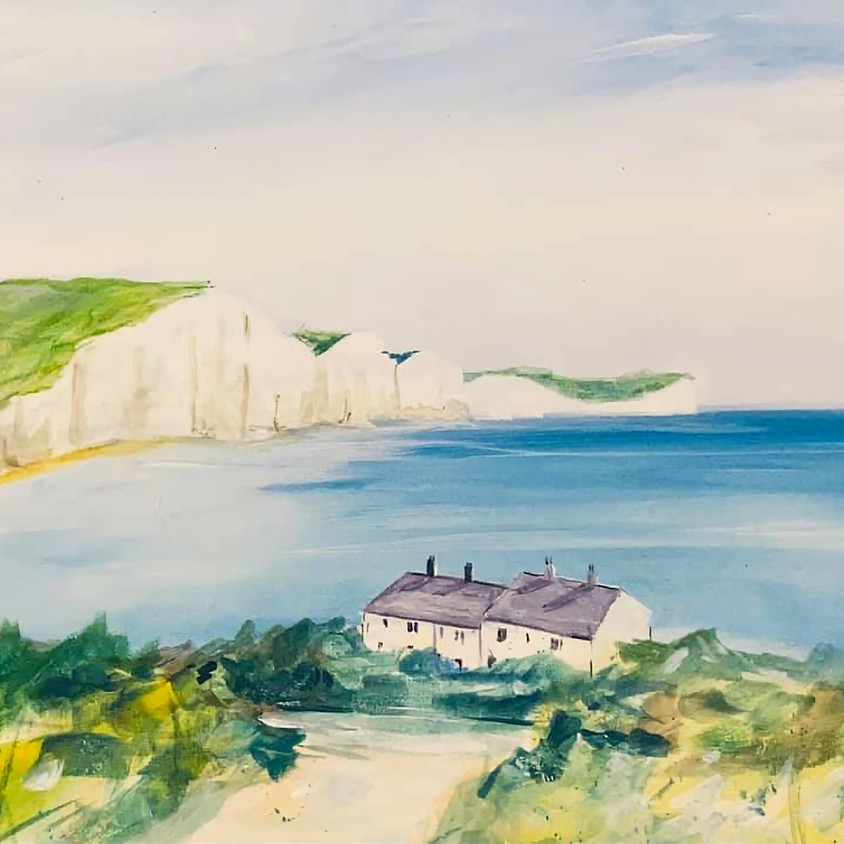 Paint the Seven Sisters, Sussex - Online painting event