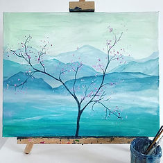 An example of what you can paint in a session.