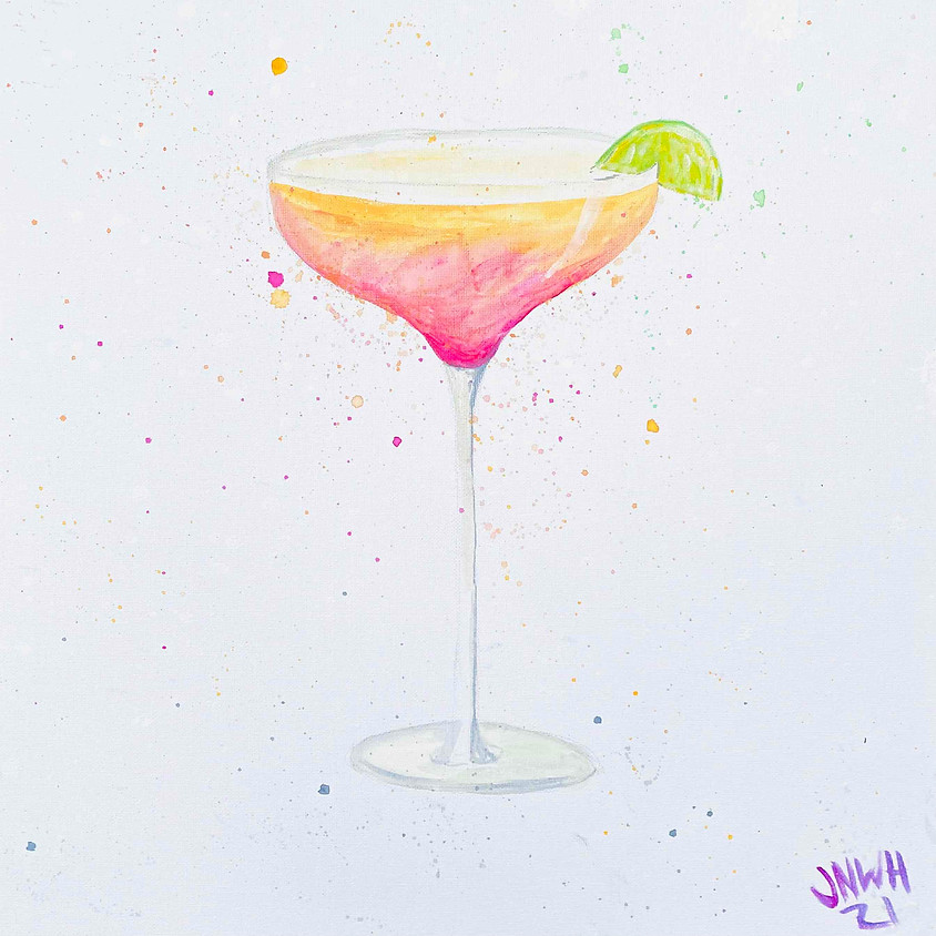 Paint a cocktail - Online painting event