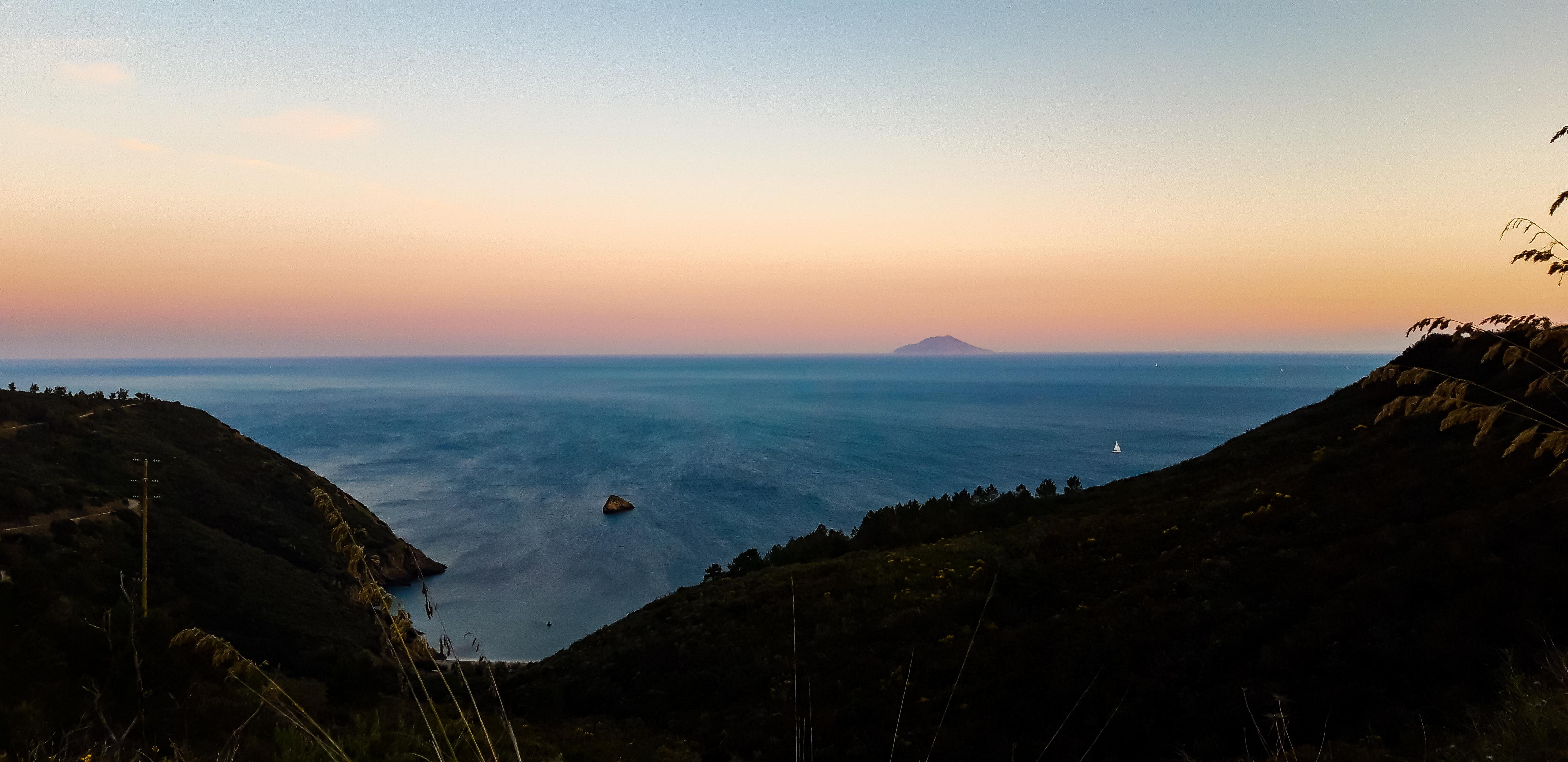 Vista Monte Cristo Isola d'Elba