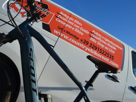 Noleggia almeno 3 E-Bike e il trasporto è gratuito