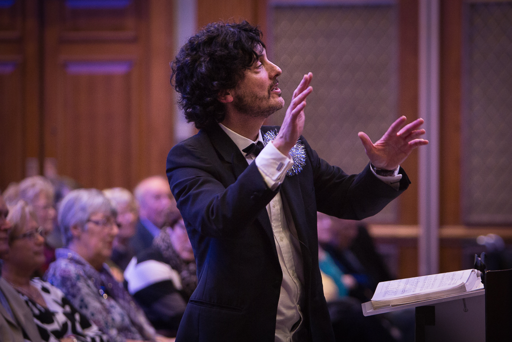 Matthew conducting