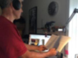 Julian recording for virtual Rosenethe.j