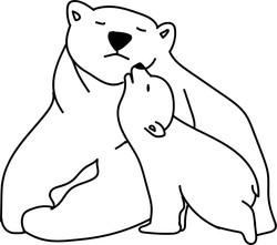 Polar Bear SVG