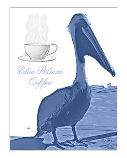 Blue Pelican Coffee Flyer