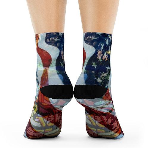 Wearable Collectible Art Crew Socks