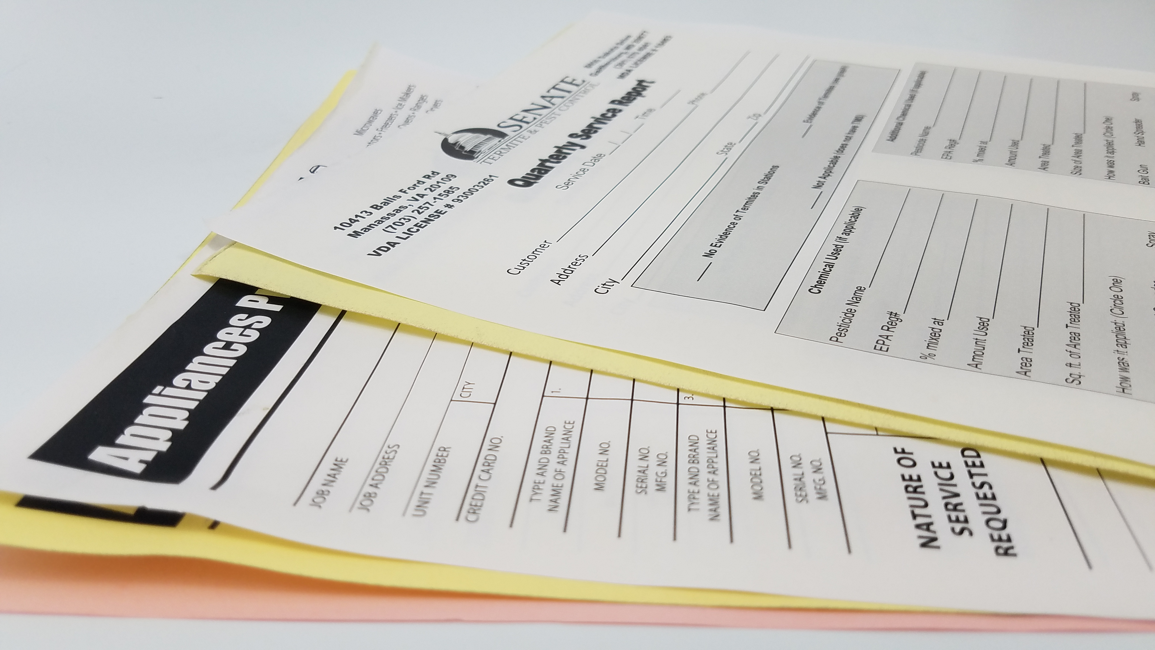 Multi-Part Business Forms