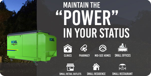 Generator Rental - Chennai