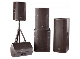 party speakers for rent