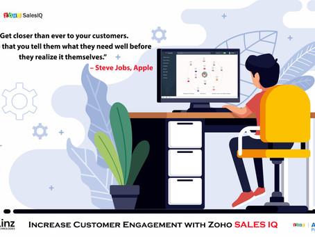 Engage your Customer with Zoho SalesIQ