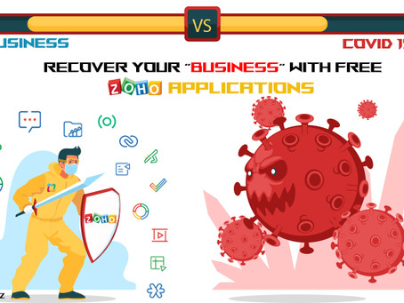 Recover Your Business with Zoho Applications