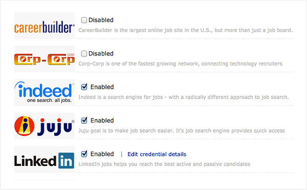 job application software