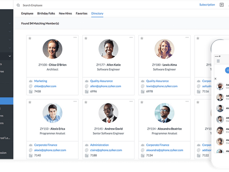 Working Remotely is new to many Organizations. Zoho People can help you with uninterrupted business.