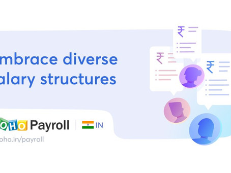 Zoho Payroll Crafted To Help Your Business