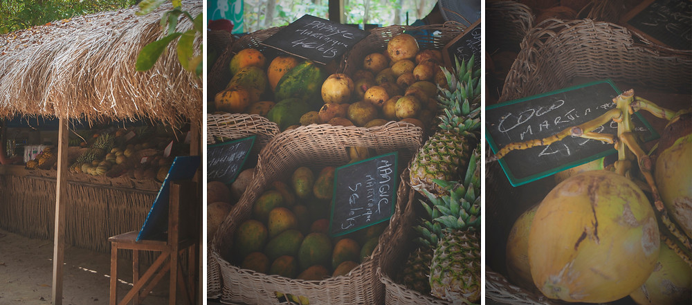Les salines, la plage carte postale de la Martinique
