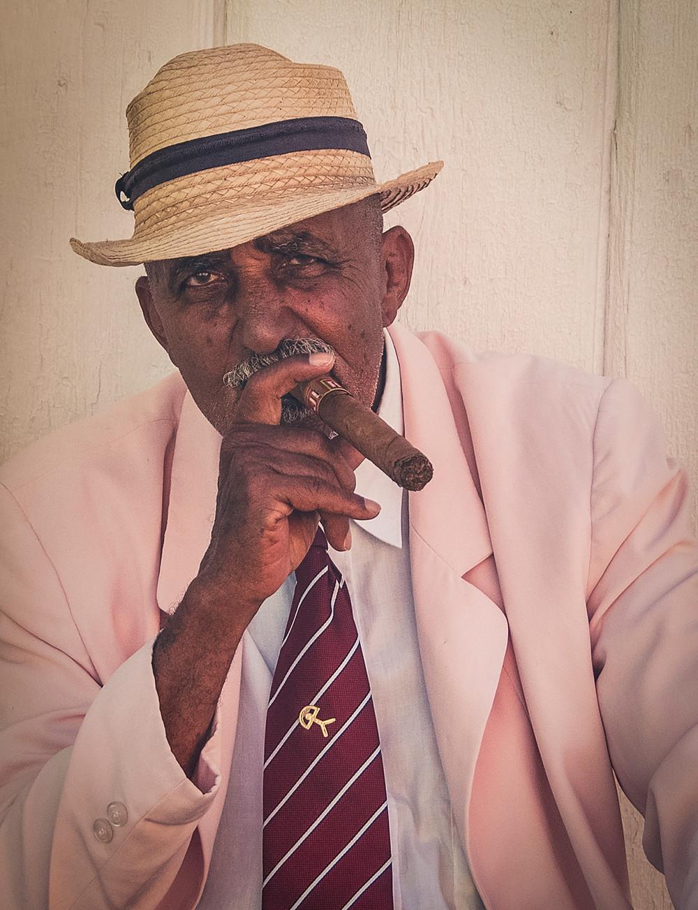 Trinidad - Cuba - Homme au cigare