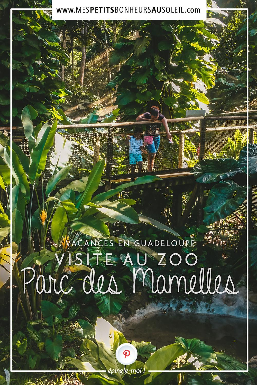 Parc des Mamelles, Zoo de Guadeloupe