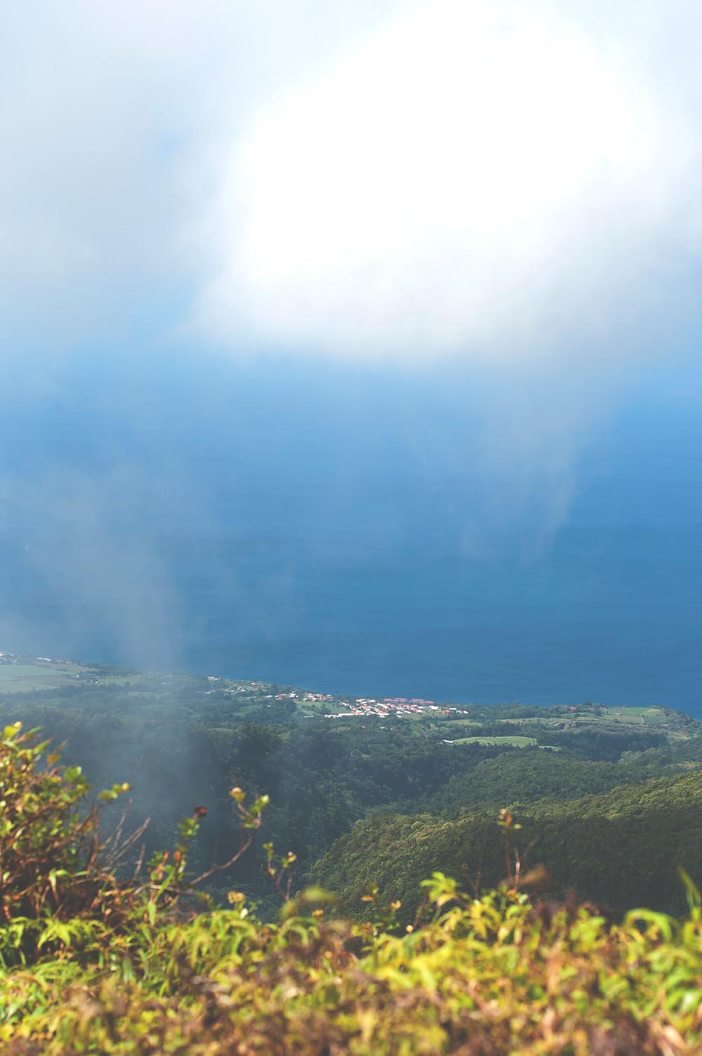 Montagne Pelée Martinique - Vue de Saint-Pierre