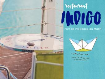 L'Indigo Restaurant à la Marina du Marin