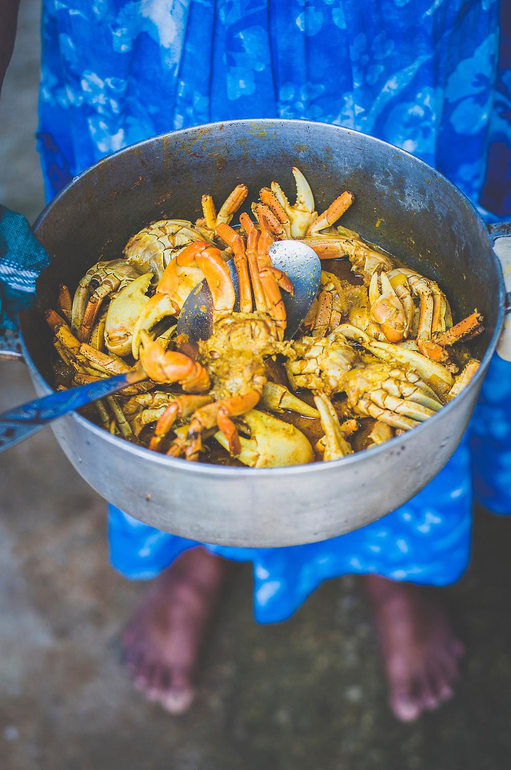 Recette matoutou de crabe - Martinique