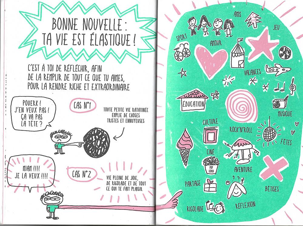 """Extrait du livre de Françoise Boucher """"Le livre qui te rend super méga heureux"""""""