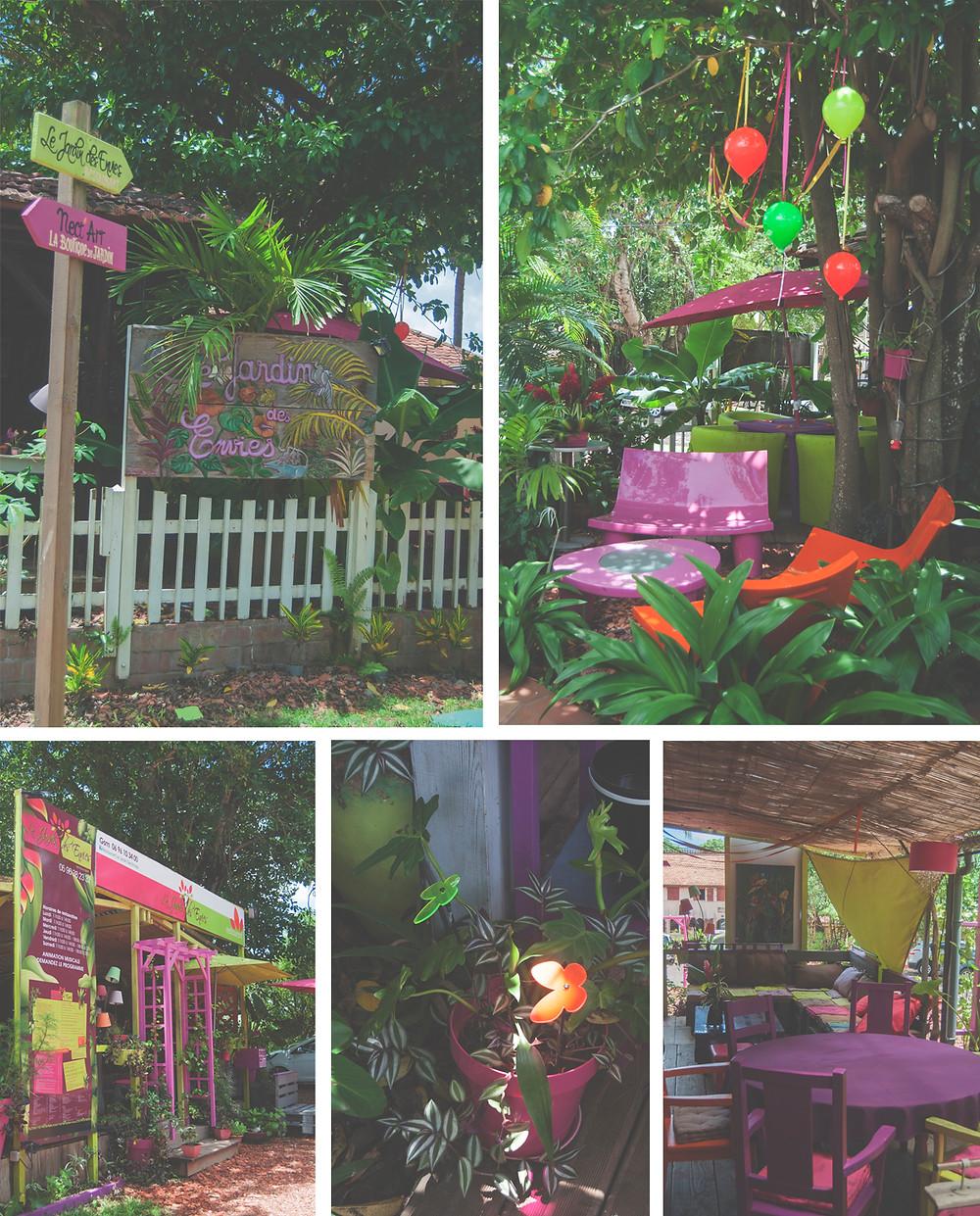 Le Village de la Poterie - Restaurant Le Jardin des Envies