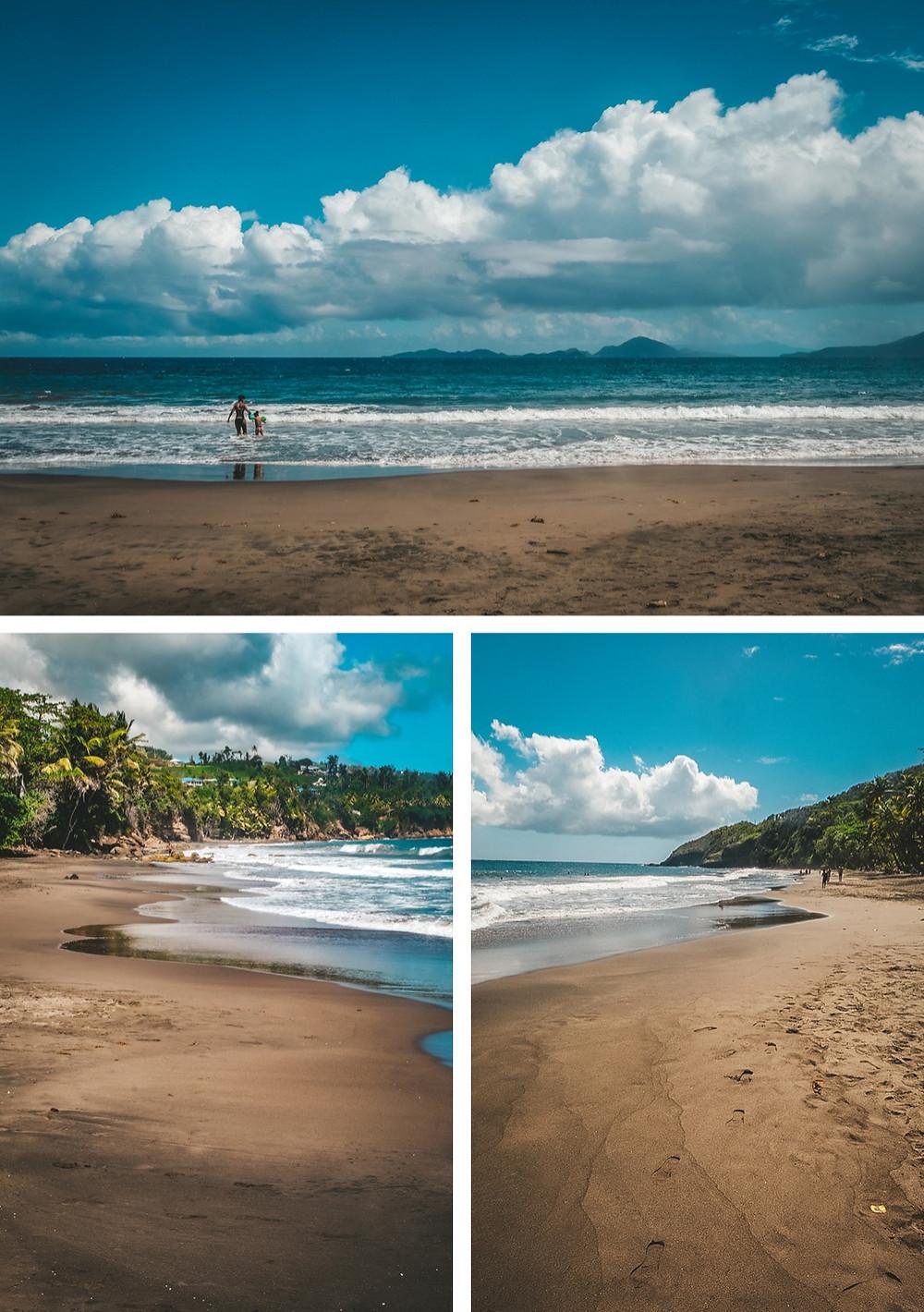 Plage de Trois-Rivières Guadeloupe