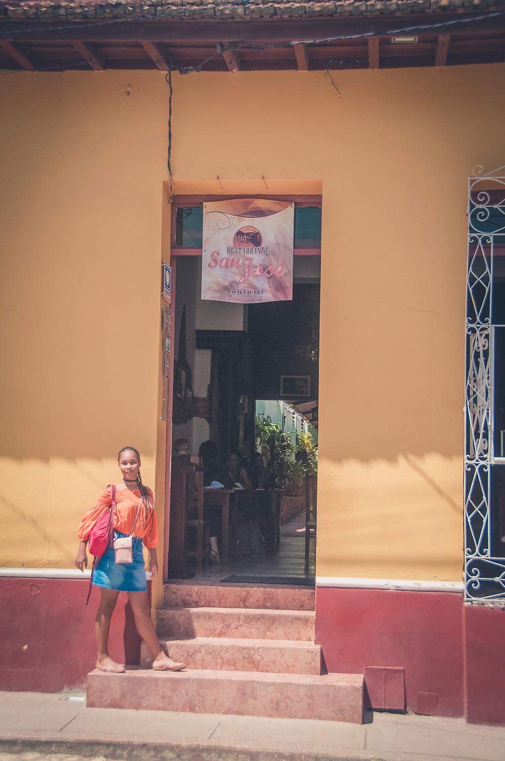 Restaurant San José - Trinidad - Cuba