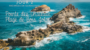 Guadeloupe, Pointe des Châteaux et Plage de Bois Jolan