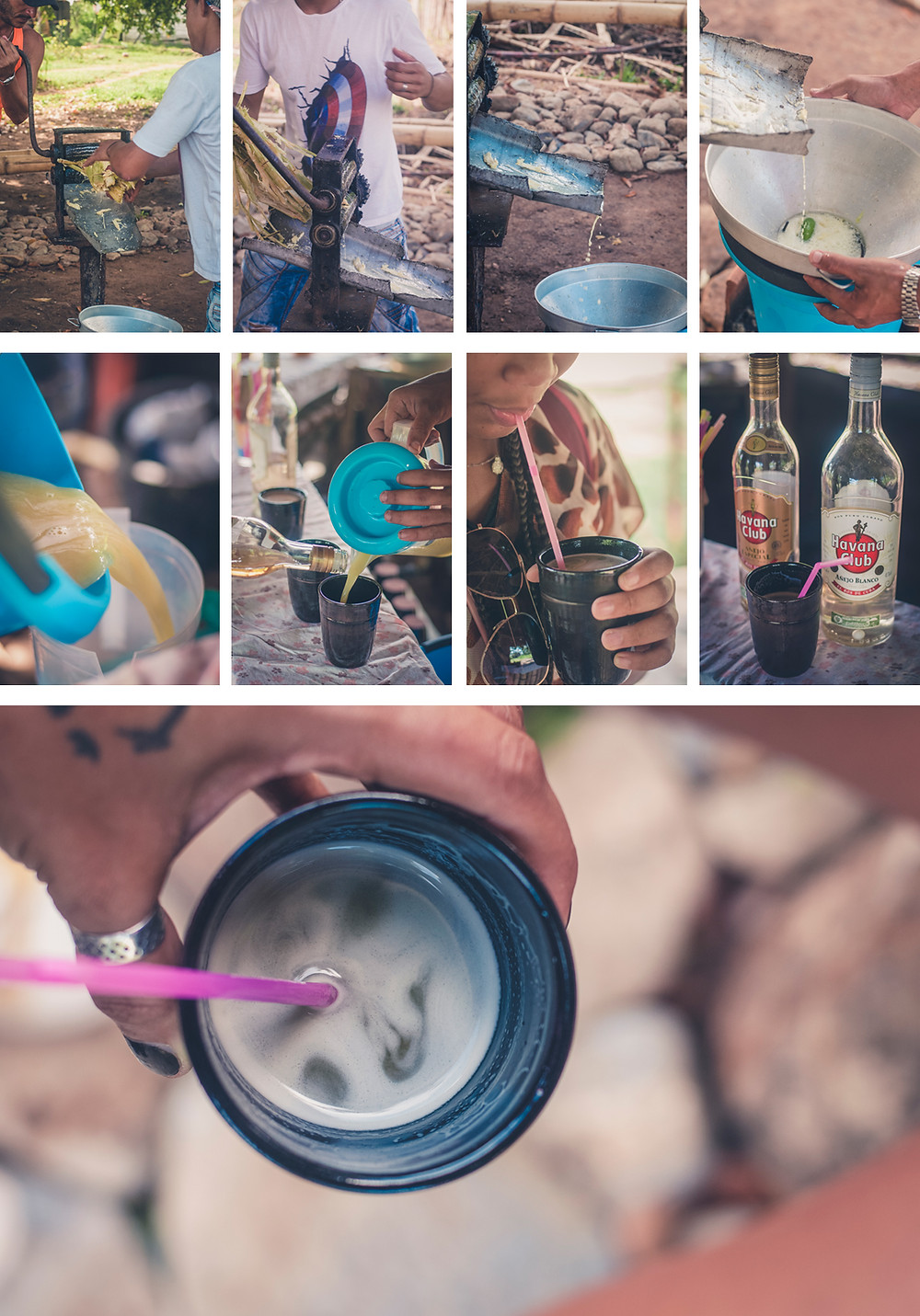 Jus de canne à sucre - Trinidad - Cuba