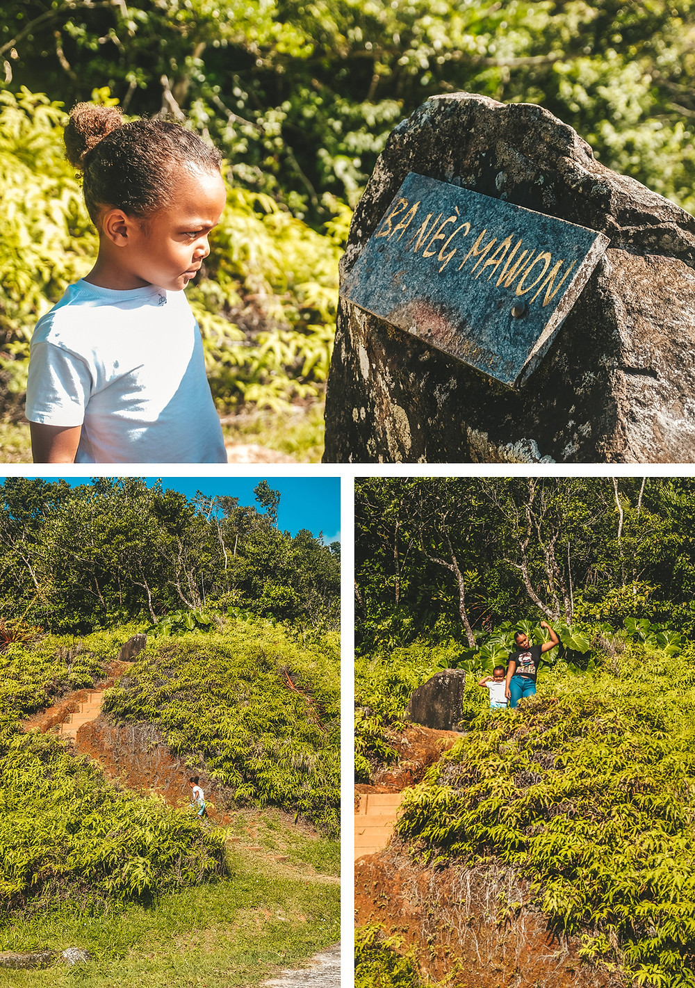 Stèle Neg Mawon - Guadeloupe