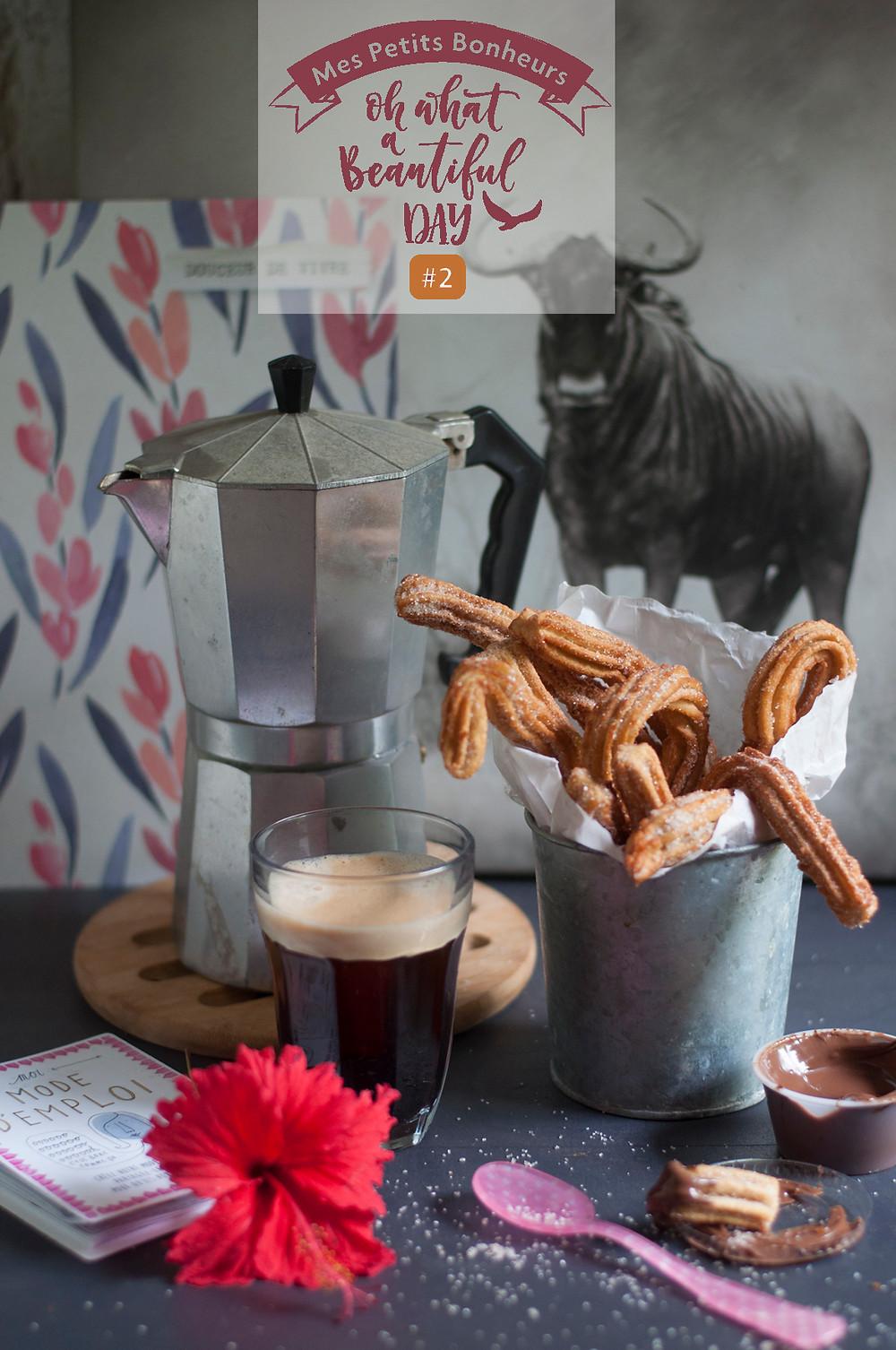 Mes Petits Lundis Bonheur #2 chichis au chocolat