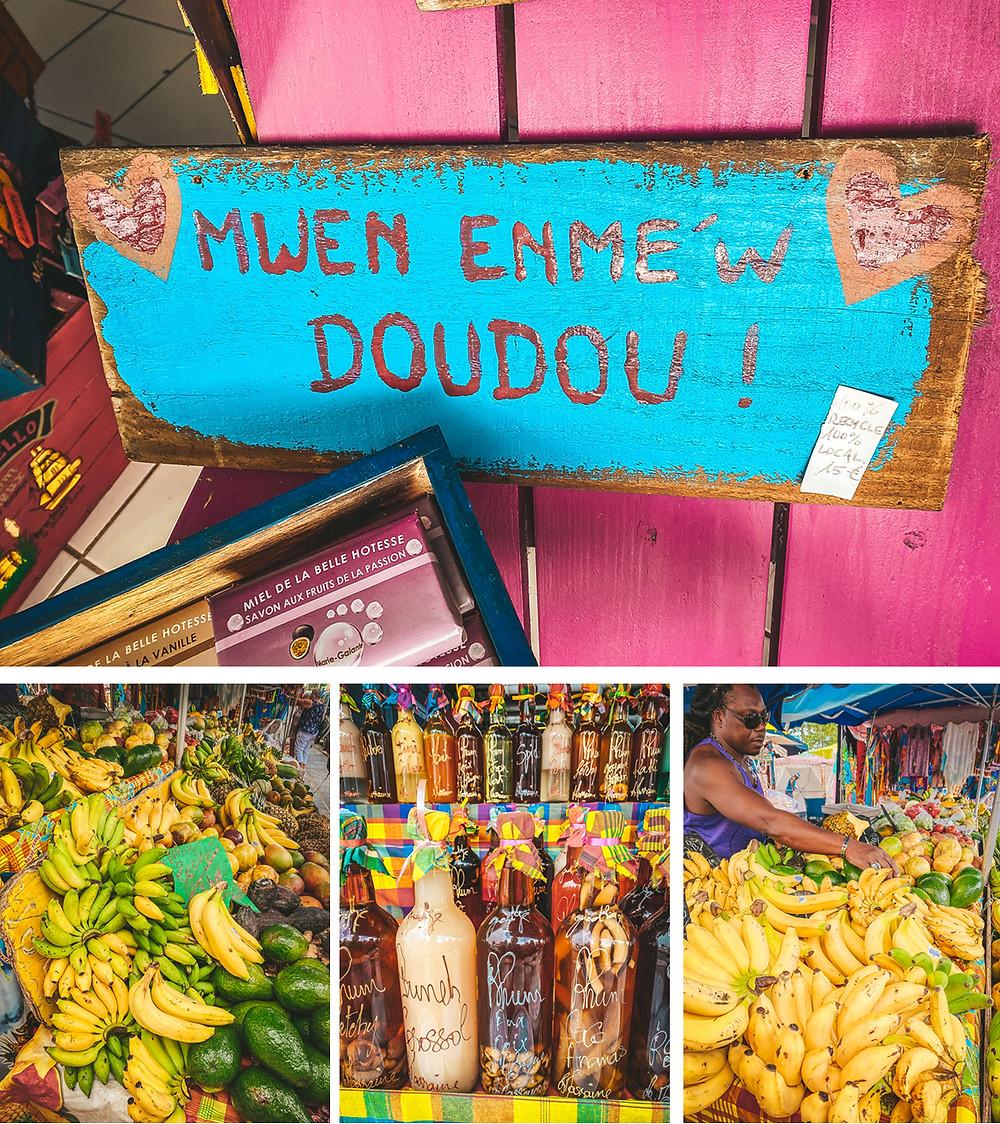 marché Sainte-Anne Guadeloupe