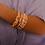 Thumbnail: Bracelet Amok martelé