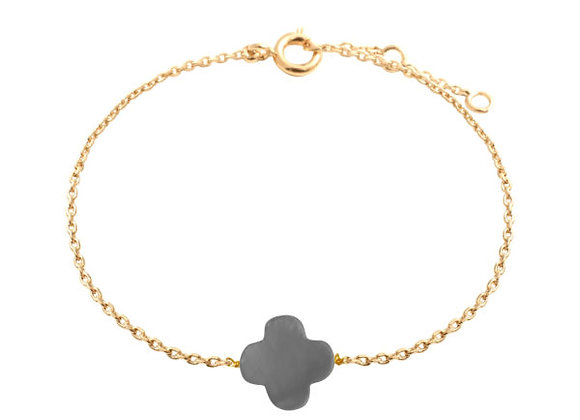 Bracelet trèfle By164