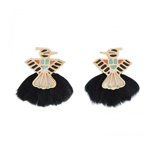 Boucles d'oreilles Zuni