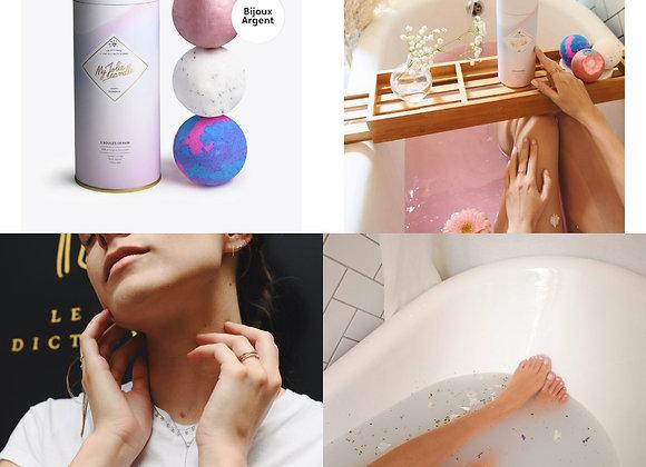 Boules de bain My jolie candle- Collier argent