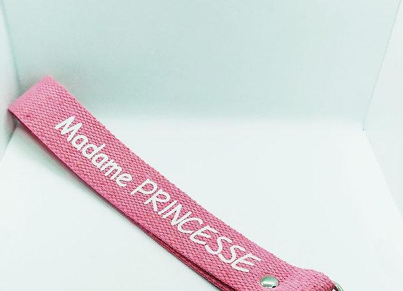 Sangle/ porte clé «madame princesse»