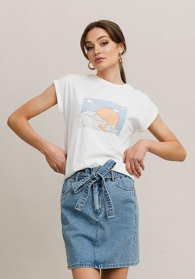 T-shirt imprimé ELLEN