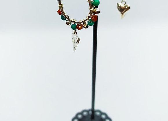 Boucles d'oreilles Viking