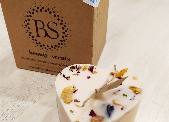 Bougie Beauty scents- champagne/rose
