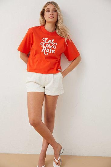 T-shirt Let Love Rule