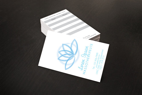 Zen business card home kmy design graphic design zen design for business card with appointments fill in the custom text field while purchasing and the changes will be made colourmoves
